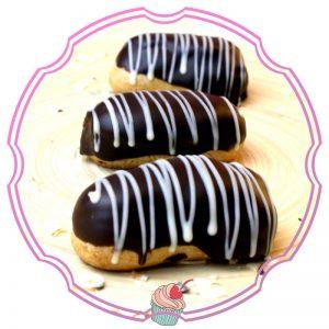 Mini Eclere Ciocolata Neagra Callebaut