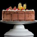 Tort Amandina cu blat de cacao si ciocolata